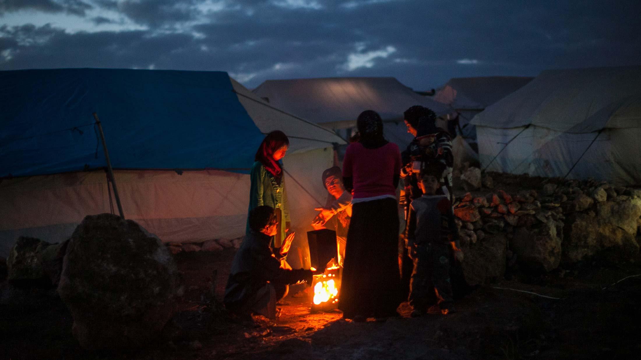 Siria, un país desplazado