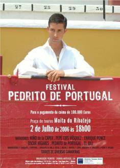 Pedrito de Portugal: «El toro no es un animal de circo: su