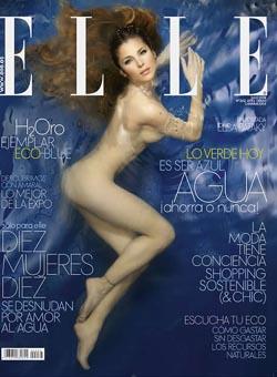 Una Sugerente Elsa Pataky Se Desnuda En Defensa Del Agua