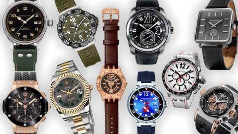 3329cc9276d6 Los diez mejores relojes de caballero