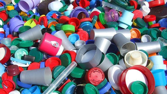 Tapones de plástico que curan