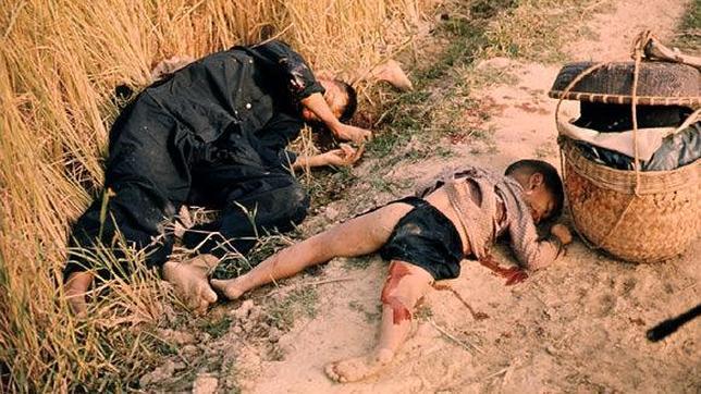 Un hombre y un niño asesinados en My Lai