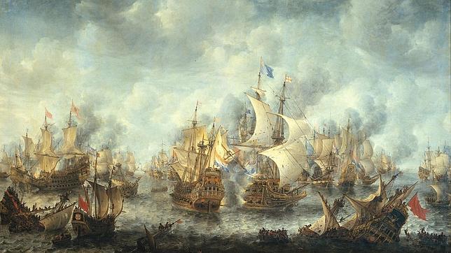 El día que ardió el mar en 1704
