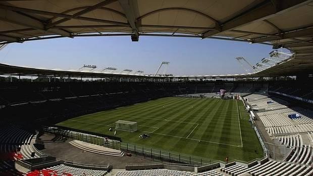El estadio de Toulouse.