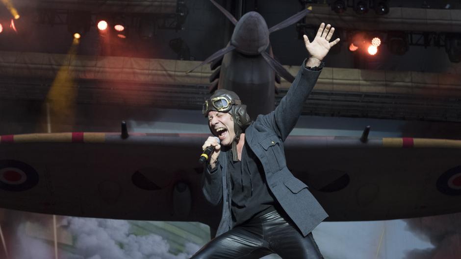 Iron Maiden agranda su leyenda en el Metropolitano