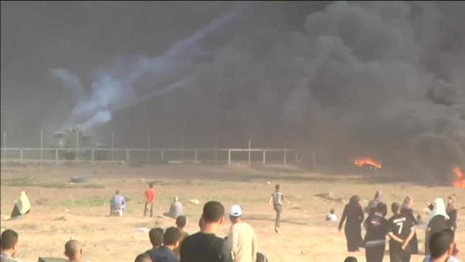 Las tropas israelíes matan a un joven palestino en una nueva jornada de protestas