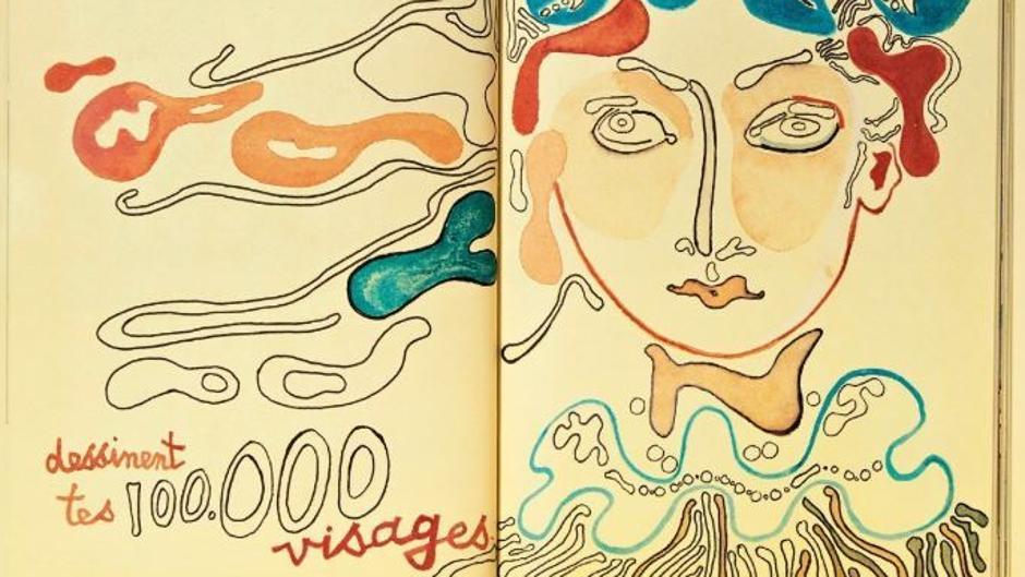 Françoise Gilot publica una edición facsímil de sus cuadernos de dibujos de Venecia, La India y Senegal