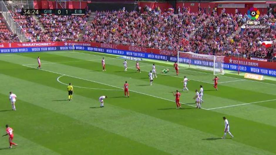 LaLiga (J8): Resumen y goles del Gerona 2-3 Eibar
