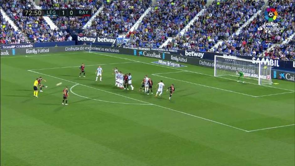 LaLiga (J8): Resumen y gol del Leganés 1-0 Rayo Vallecano
