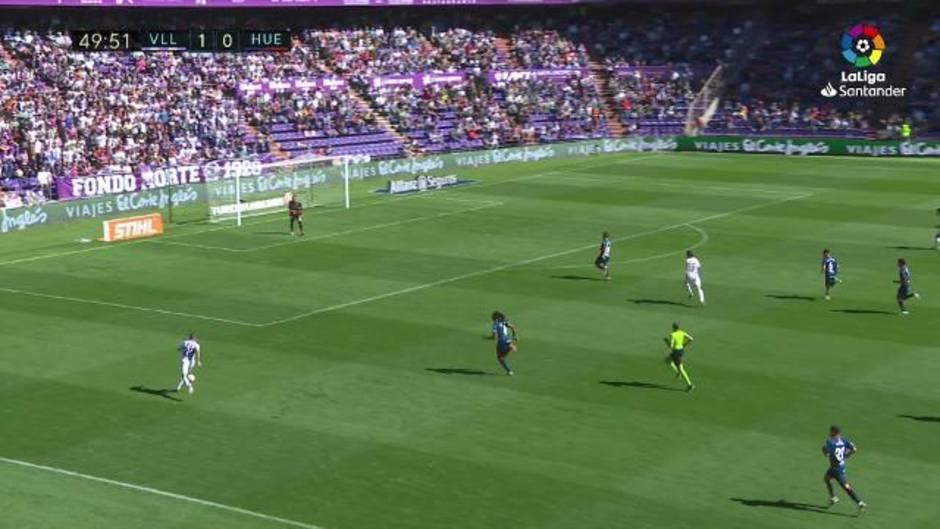 LaLiga (J8): Resumen y gol del Real Valladolid 1-0 Huesca