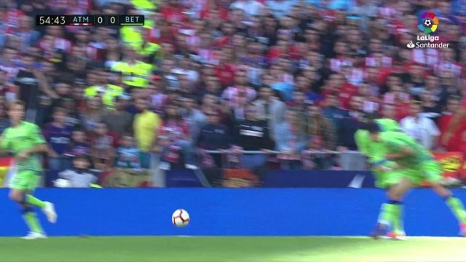 La Liga (J8): Resumen y gol del Atlético 1-0 Real Betis