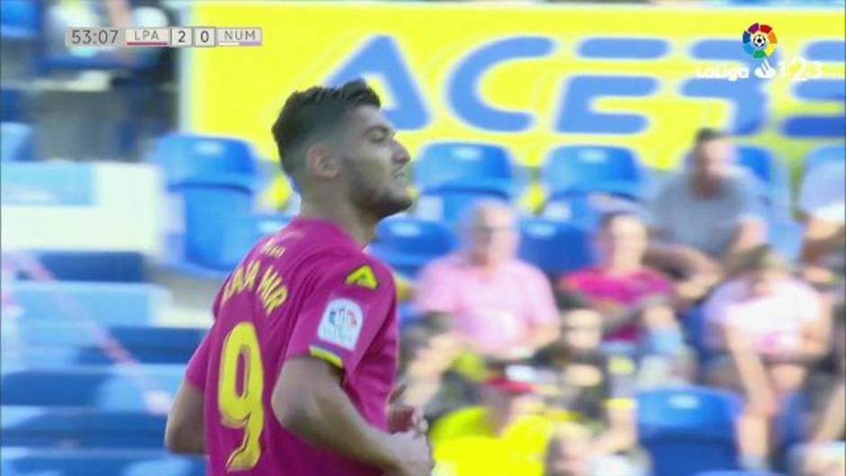 LaLiga 123 (J9): Resumen y goles del Las Palmas 3-0 Numancia