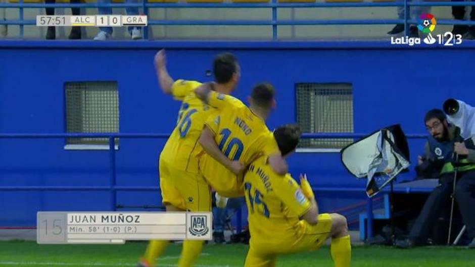 LaLiga123   Resumen del Alcorcón 1 - 0 Granada CF