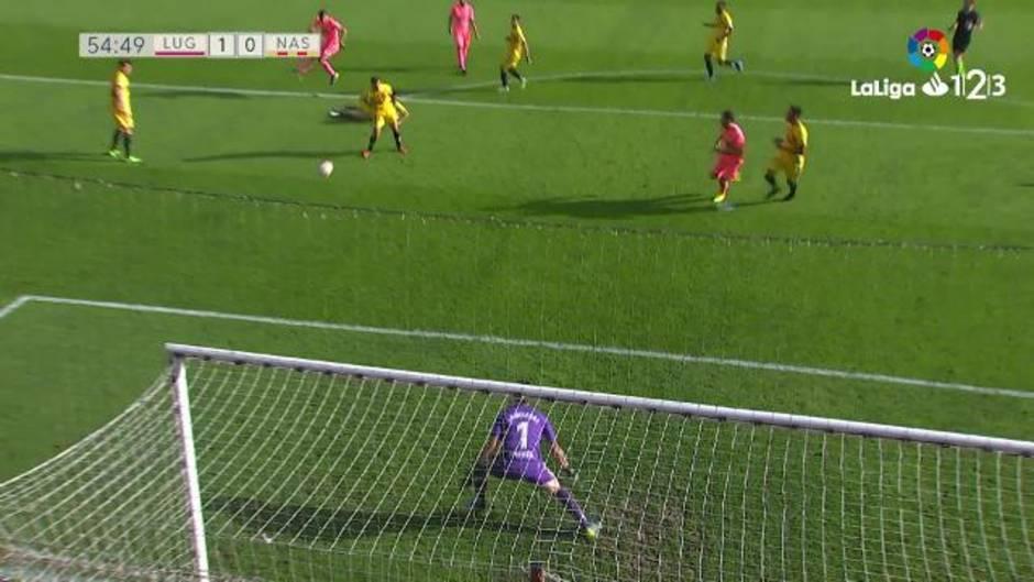 LaLiga 123 (J10) Resumen y goles del Lugo 1-0 Nastic