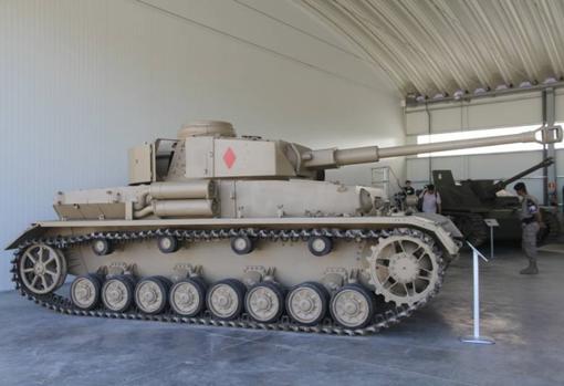 Panzer IV del Museo de Medios Acorazados de la BRI Guadarrama XII