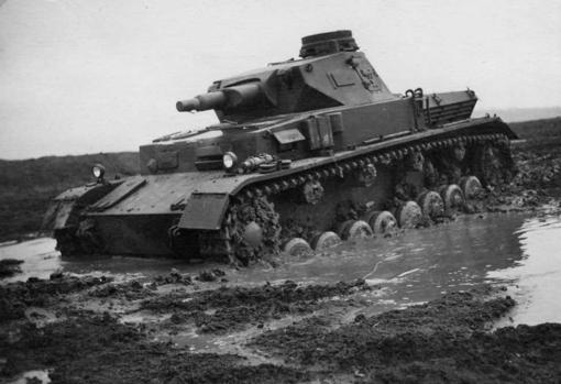 Panzer IV con cañón corto