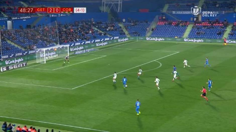 Copa del Rey: Resumen y goles del Getafe 5-1 Córdoba