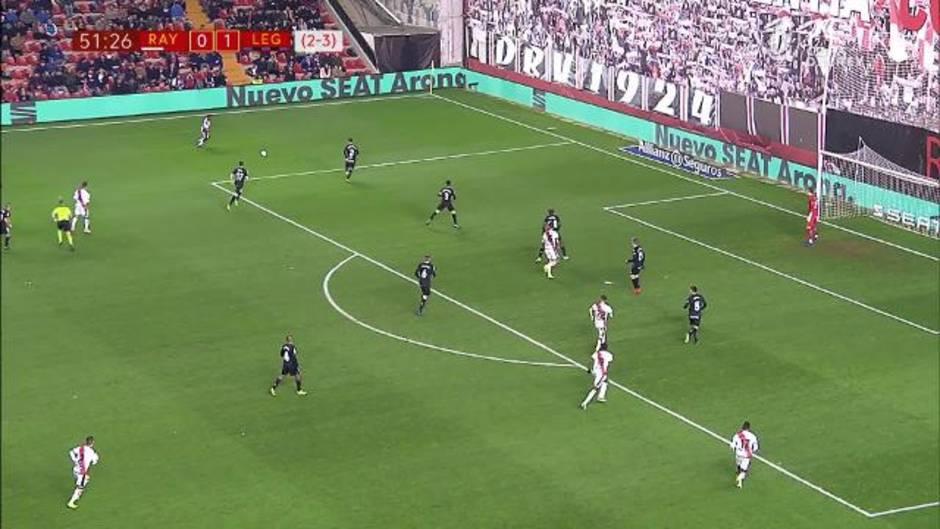 Copa del Rey: Resumen y gol del Rayo Vallecano 0-1 Leganés