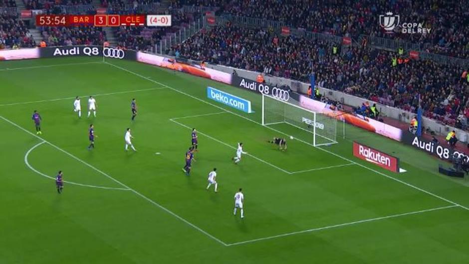 Copa del Rey: Resumen y goles del Barcelona 4-1 Cultural