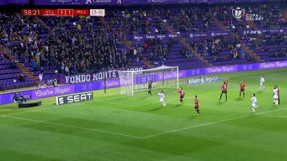 Copa del Rey: Resumen y goles del Real Valladolid 2 - 1 Mallorca