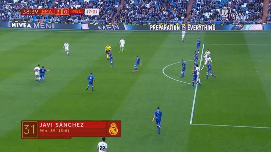 Copa del Rey: Resumen y goles del Real Madrid 6-1 Melilla