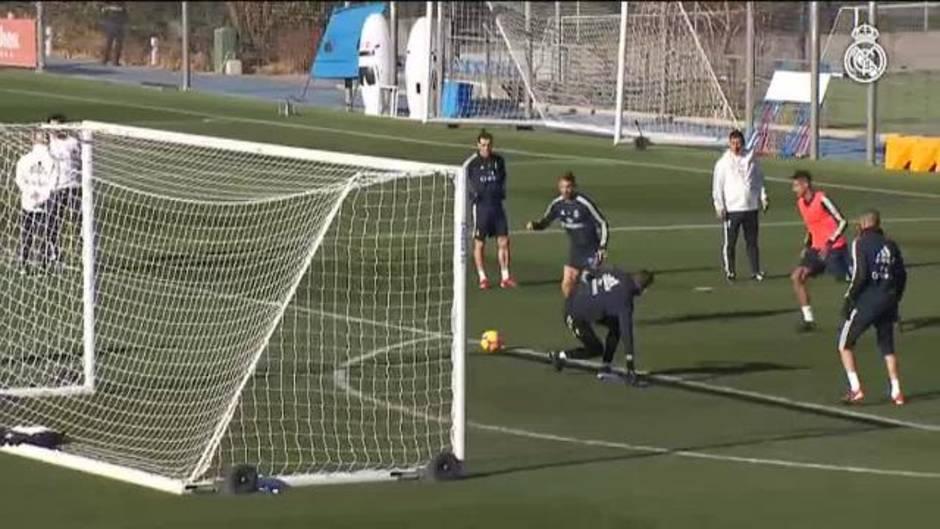 44307da8d3 El Real Madrid comienza a preparar en Valdebebas su partido ante el Huesca