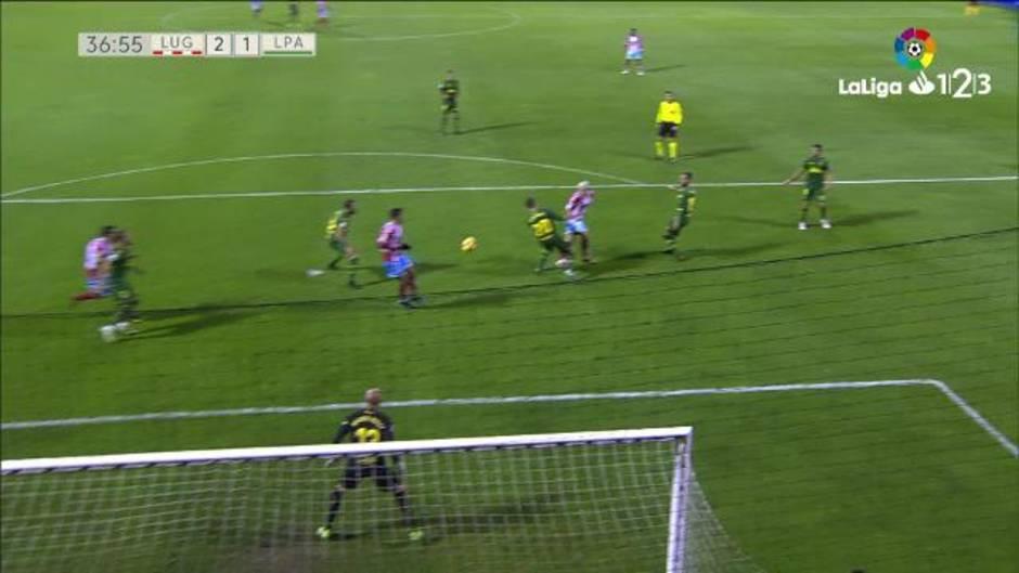 LaLiga 123 (J17): Resumen y goles del Lugo 4-2 Las Palmas