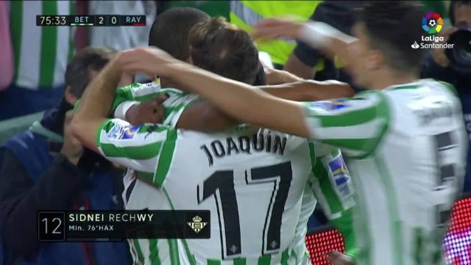 Gol de Sidnei (2-0) en el Betis 2-0 Rayo d3168c4976844