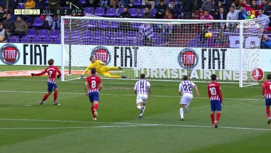 LaLiga (J16): Resumen del Real Valladolid 2 - 3 Atlético de Madrid