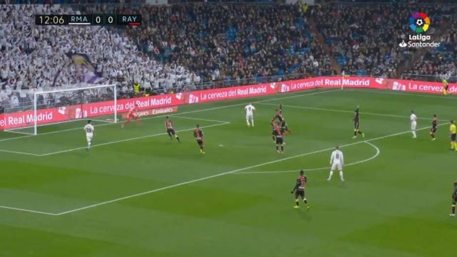 Liga Santander (J16) Resumen y gol del Real Madrid 1-0 Rayo Vallecano