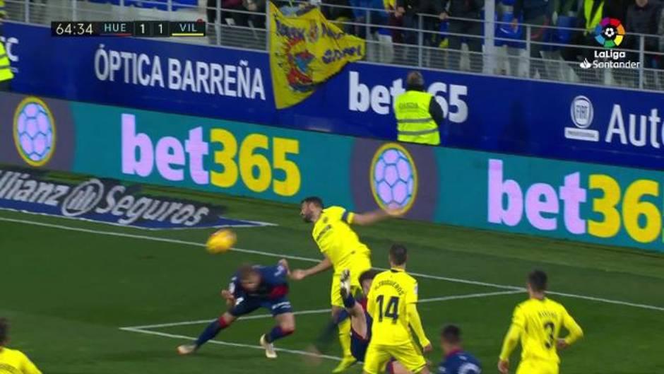 LaLiga Santander (J16): Resumen y goles del Huesca 2-2 Villarreal