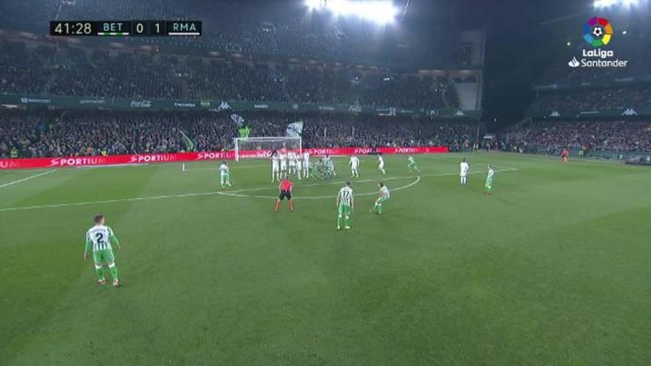 La Liga (J19): Resumen y goles del Betis 1-2 Real Madrid