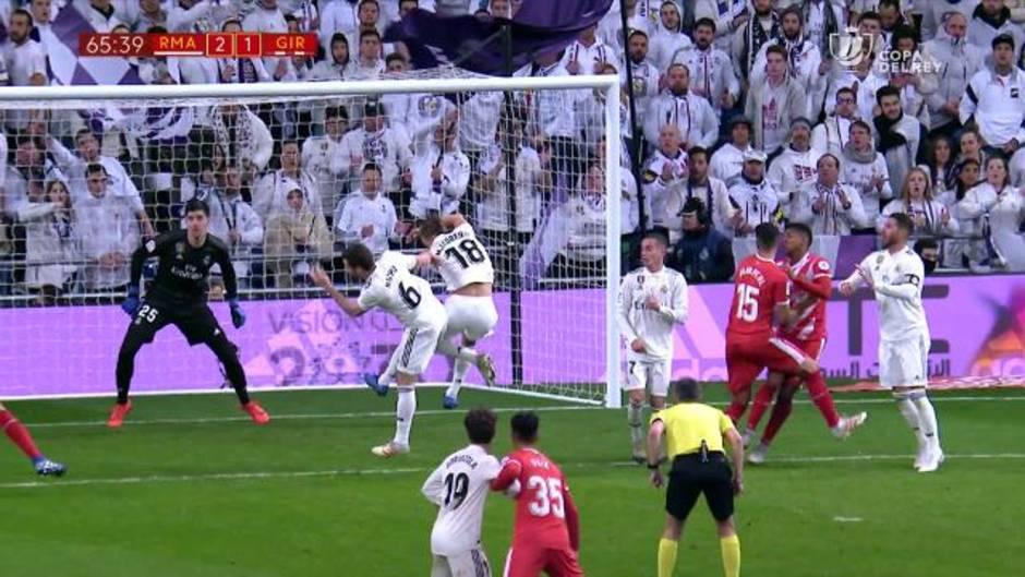 fe1836fc31831 Gol de Álex Granell (2-2) en el Real Madrid 4-2 Girona