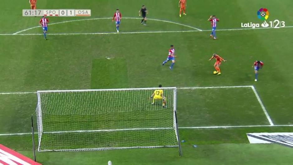 LaLiga 123 (J25): Resumen y goles del Sporting 0-2 Osasuna
