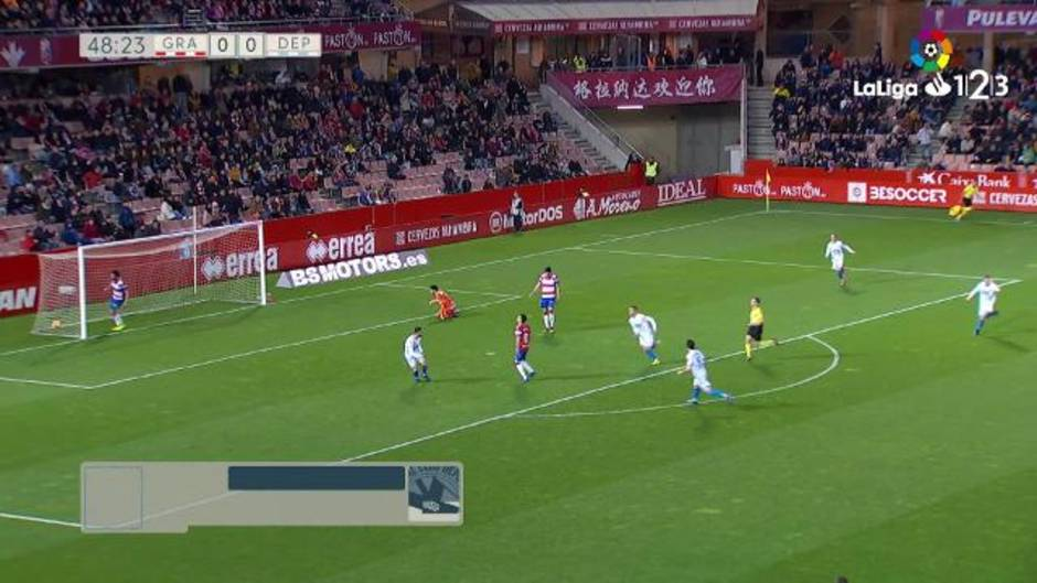 LaLiga123 (J25): Resumen y gol del Granada 0-1 Deportivo