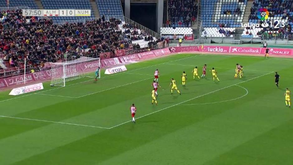 Liga123 (J25): Resumen y gol del Almería 1-0 Numancia