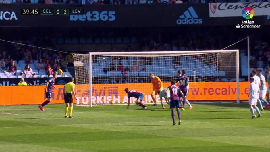 LaLiga Santander (J24): Resumen y goles del Celta 1-4 Levante