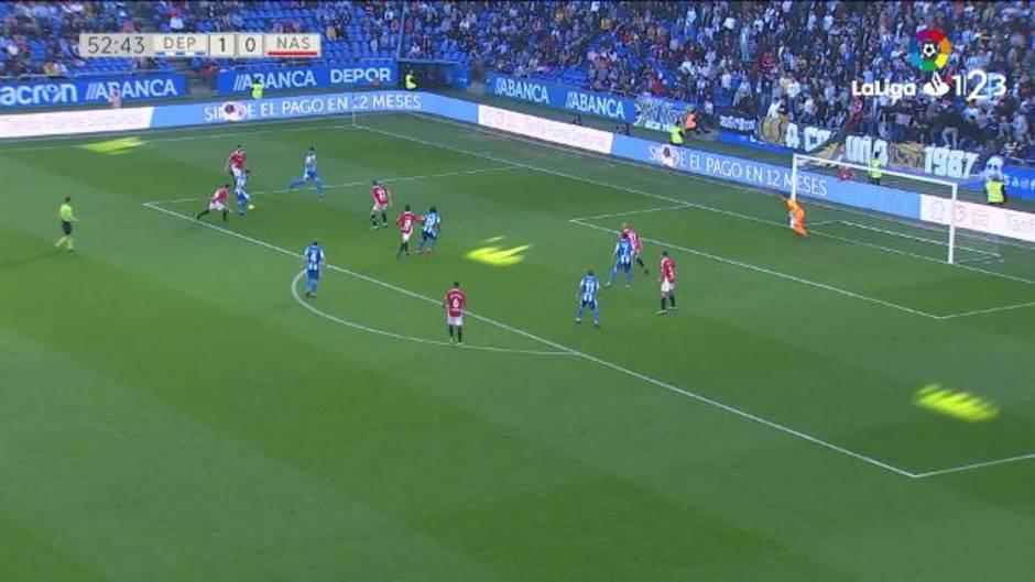 LaLiga 123 (J26): Resumen y goles del Deportivo 1-1 Nástic
