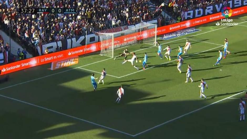 LaLiga Santander (J24): Resumen y gol del Rayo Vallecano 0-1 Atlético