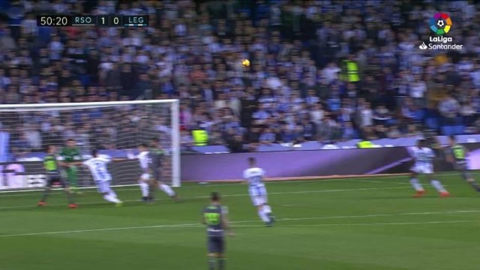 LaLiga (24): Resumen y goles del Real Sociedad 3-0 Leganés