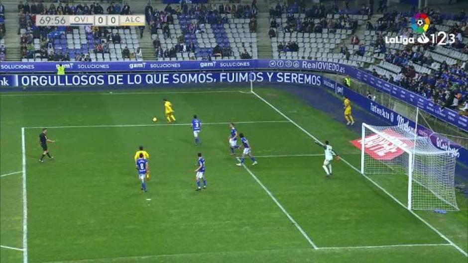 LaLiga 123 (J26): Resumen y gol del Real Oviedo 1-0 Alcorcón