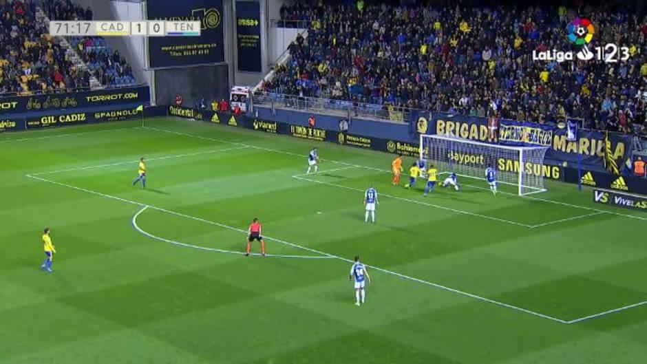 LaLiga 123 (J26): Resumen y goles del Cádiz 2-0 Tenerife