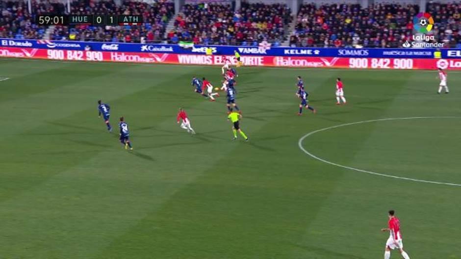 LaLiga Santander (J24): Resumen y goles del Huesca 0-1 Atheltic