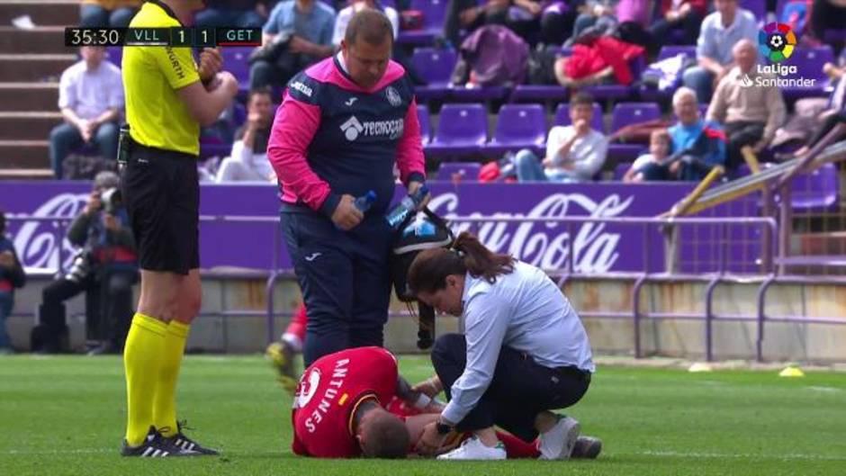 Resultado de imagen de antunes lesión