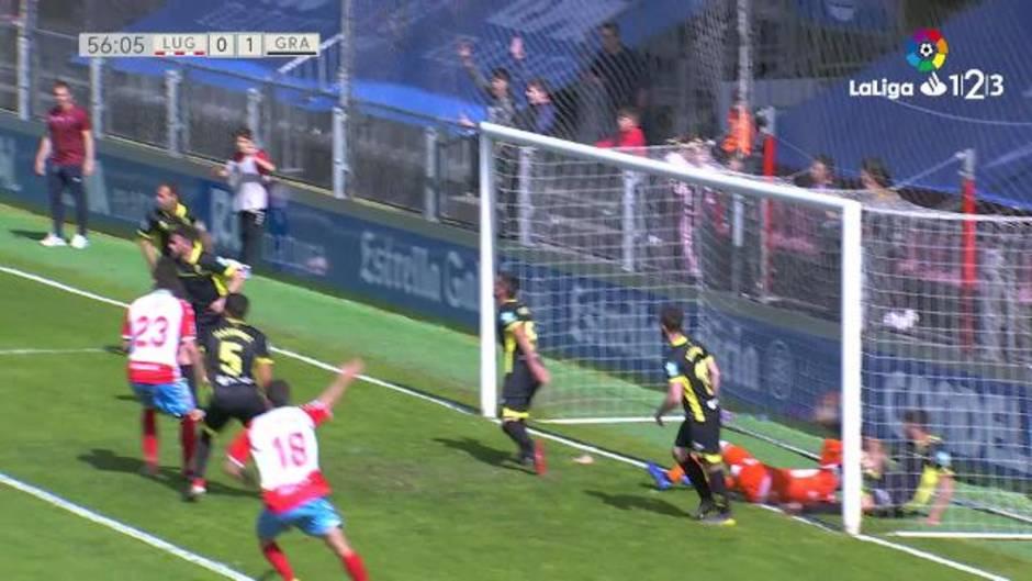 LaLiga 123 (J35): Resumen y goles del Lugo 1-Granada 2