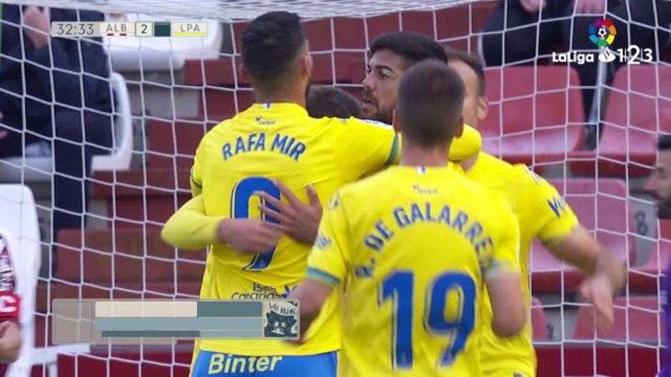 LaLiga 123 (J35). Resumen y goles del Albacete 4-2 Las Palmas