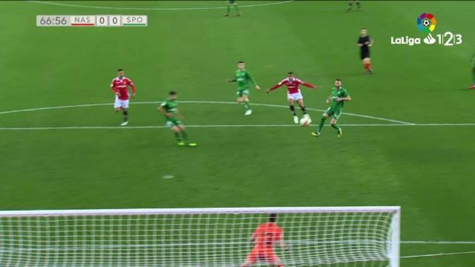 LaLiga 123 (J35): Resumen del Nástic 0-0 Sporting