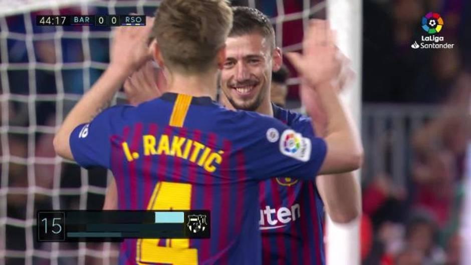 LaLiga (J33): Resumen y goles del Barcelona 2-1 Real Sociedad