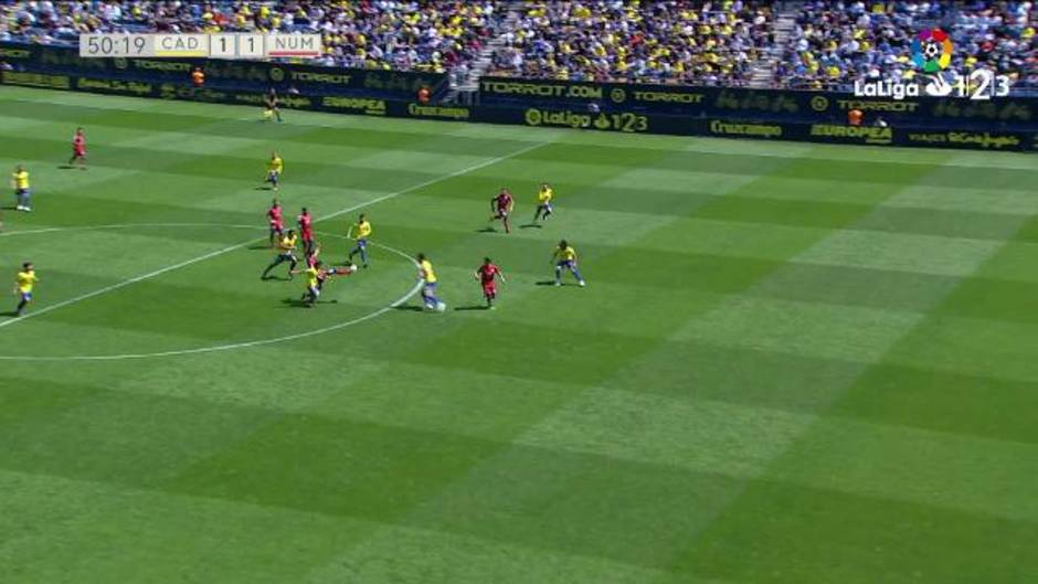 LaLiga 123 (J35): Resumen y goles del Cádiz 2-1 Numancia