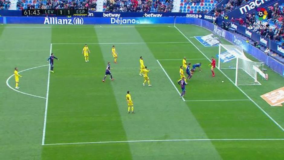 LaLiga (J33): Resumen y goles del Levante 2-2 Espanyol